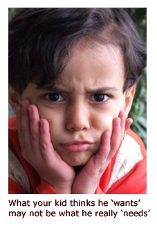 Parenting issue - picure of angry kid