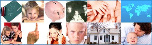 Parenting style: Mosaic of parenting style influences.