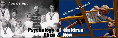 Psychology of children and child psychology - old and modern