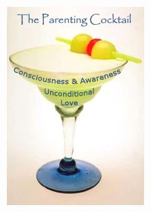 Pretty picture of a cocktail - a powerful parenting cocktail of love and consciousness!